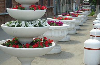 Купить уличные вазоны для цветов из бетона в новосибирске бетон цены саранск