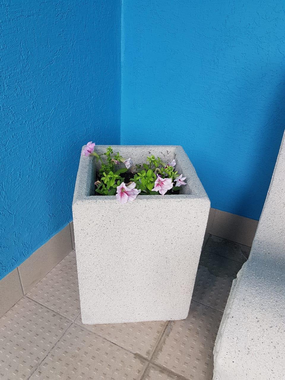 вазон уличный из бетона купить в самаре